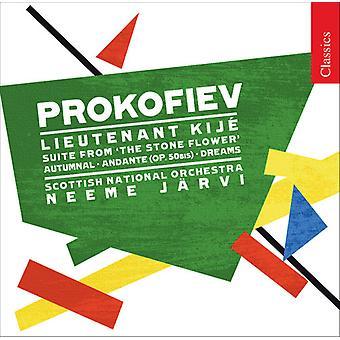 S. Prokofiev - Prokofiev: Lieutenant Kij ; the Stone Flower Suite [CD] USA import