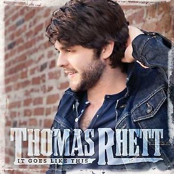 Thomas Rhett - It Goes Like This [Vinyl] USA import