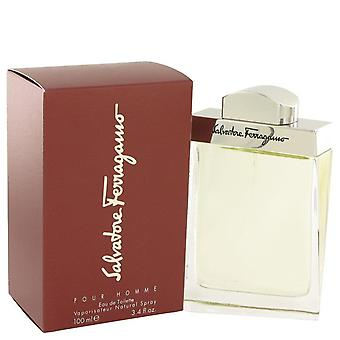 Salvatore Ferragamo Eau De Toilette Spray By Salvatore Ferragamo 3.4 oz Eau De Toilette Spray