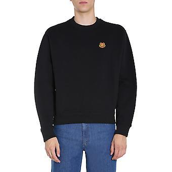 Kenzo Fa65sw0034md99 Men's Black Cotton Sweatshirt