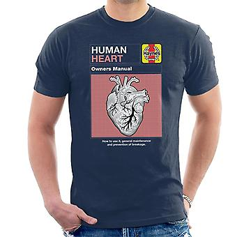 Haynes Human Heart Owners Manual Hombres's Camiseta