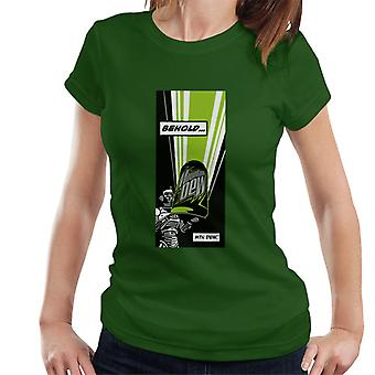 Mountain Dew Behold Comic Strip Women's T-Shirt