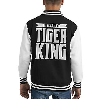 Im The Next Tiger King Joe Exotic Kid's Varsity Jacket