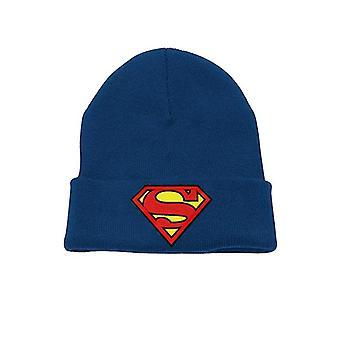 Superman Adults Unisex Adults Logo Beanie