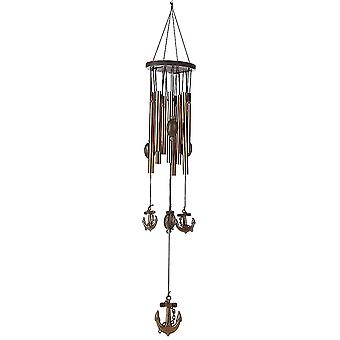 Antirust Copper Wind Chime 62cm - Living Room Metal Wind Chimes Outdoor Garden