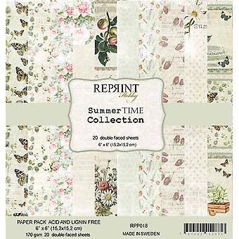 Reprint Summer Time 6x6 Inch Paper Pack