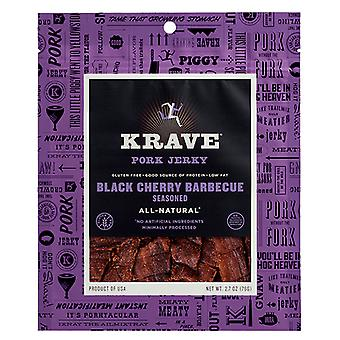 Krave Gluten Free Pork Jerky Black Cherry Barbecue
