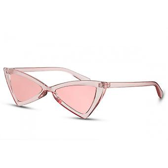 Sunglasses Women's Butterfly Pink/Pink (CWI2267)