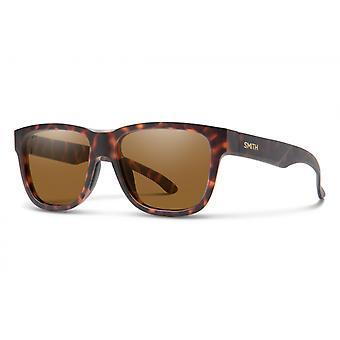 نظارات شمسية Unisex Lowdown سليم 2 البني havanna / البني