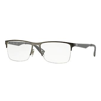 Ray-Ban RB6335 2855 Matte Gunmetal Glasses
