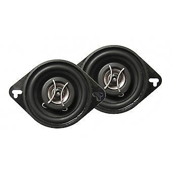 Lautsprecherset Zwei-Wege-Koaxial X08.22 Slim 140W schwarz
