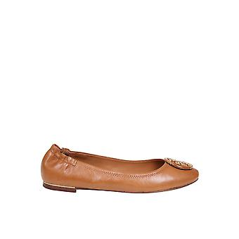 Tory Burch 74062240 Women's Brown Leather Flats
