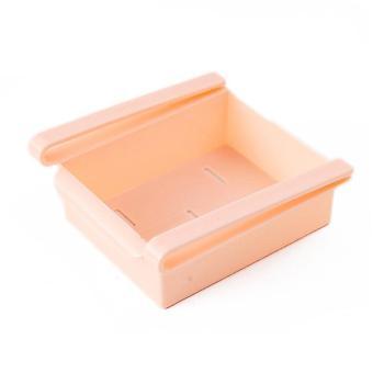 Värikäs monikäyttöinen jääkaappi säilyttäminen kontti laatikko