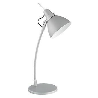 Lampada BRILLIANT Jenny Lampada da tavolo titano | 1x D45, E14, 40W, adatto per lampade a goccia (non incluso) | Ridimensionare A++ su