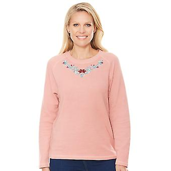 Chums Embroidered Leisure Top
