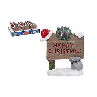 The Faries Enchanted Garden Merry Christmas Sign