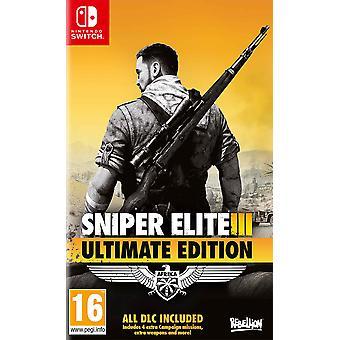 Sniper Elite 3 Ultimate Edition Nintendo Switch Game
