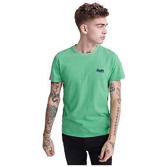 Superdry Orange Label Vintage Embroidered T-Shirt - Crafted Green Feeder