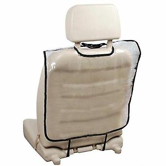 Couvercle protecteur arrière de siège d'auto pour le tapis en plastique de coup de pied