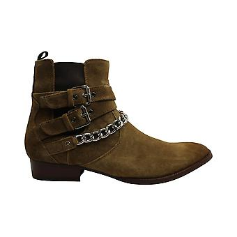 INC International Concepts Womens Dusty Leather Closed Toe Ankle Fashion Boots