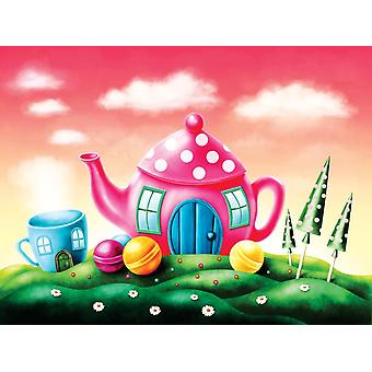 Fantasy Teapot and Teacup House