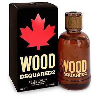 Dsquared2 Wood By Dsquared2 Eau De Toilette Spray 3.4 Oz (men) V728-548340