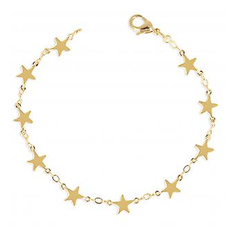 Gold Plated Star Necklace 45cm