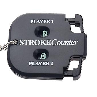 Mini Handy Golf Shot Count Stroke, Two-digits Scoring Keeper With Key Chain