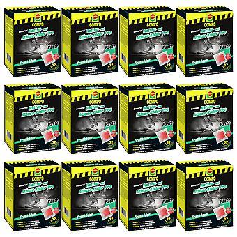 Sparset: 12 x COMPO Cumarax® rat and mice bait Pro, 480 g
