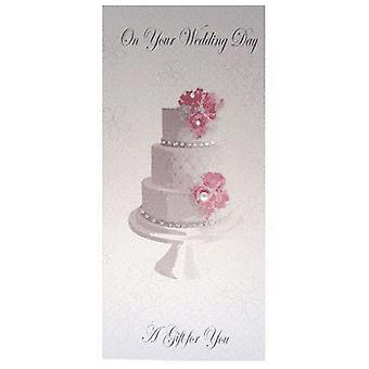 Money Gift Wallet - WEDDING CAKE