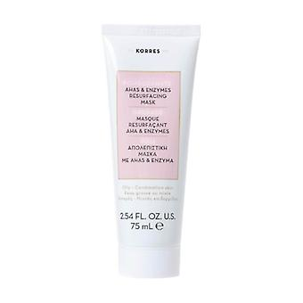 AHA Resurfacing Mask and Pomegranate Enzymes (combination skin) 75 ml