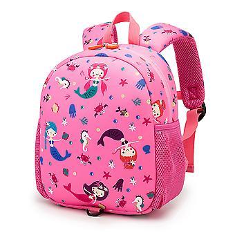 Lastentarha tyttö koululaukku Merenneito Prinsessa koululaukku