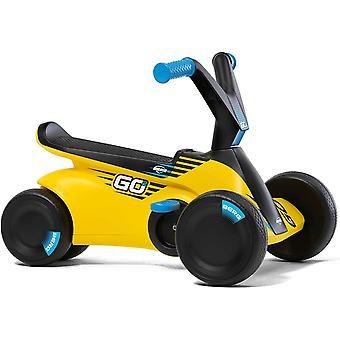 BERG yellow go2 2-in-1 pedal go kart sparx