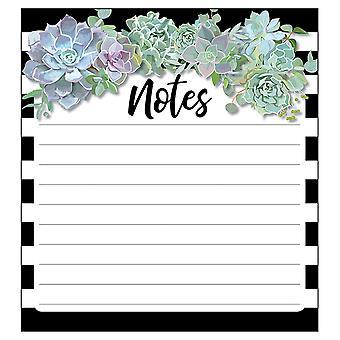 "Succulents Notepad, 5.75"" X 6.25"", 50 Sheets"