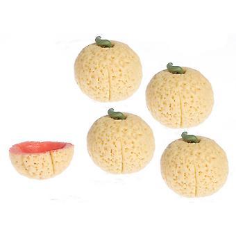 Puppen Haus Cantaloupe Melone Obst Küche Garten Gemüsehändler Shop Zubehör