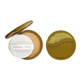 Mayfair Feather Finish Compact Powder with Mirror 10g - 02 Peach