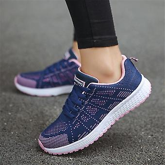 Casual Breathable Mesh Walking Vulcanized Shoes