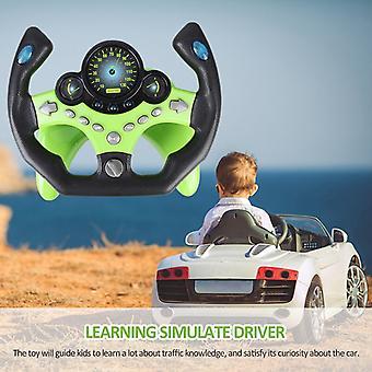 Simulation Kleine Lenkrad Kinder's Spielzeug Copiloten simuliert Lenkung Spielzeug Rad frühe Bildung klingende Spielzeug Kinder Spielzeug