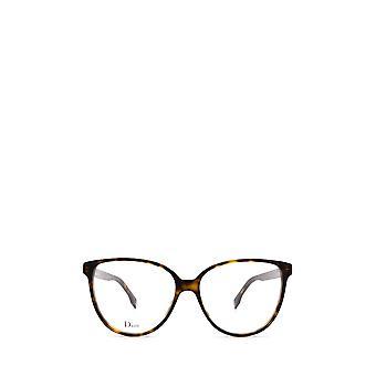 Dior DIORETOILE3 dark havana female eyeglasses