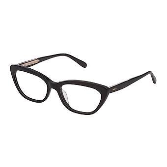 Mulberry VML015 0BLK Black Super Black Glasses