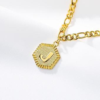 Ankle Bracelet, Initial Stainless Steel Letter A-z Alphabet