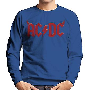 AC/DC Devil Horns Logo Men's Sweatshirt