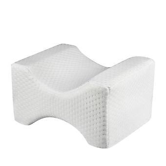 Memory Foam Knee Pillow For Sleeping Cushion Side Sleepers Align Spine