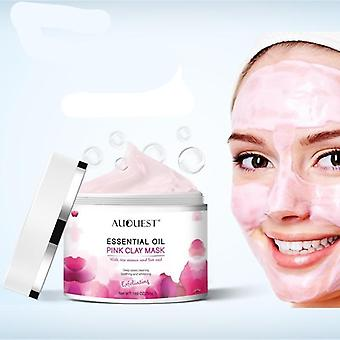 Pink Clay Mask Pore Black Dots Blackhead Deep Cleansing Mask