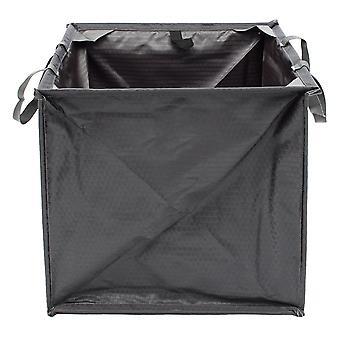 Outdoor Tree Rock Climbing Folding Throw Line Cube Storage Bag Paracord Rope Organizer Box