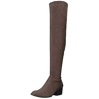 Kenneth Cole New York Women's Adelynn Over The Knee Boot Low Heel Stretch Eng...