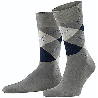 Burlington King Socks - Marengo Grey