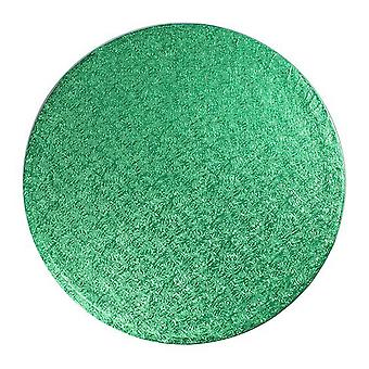 10&; (254mm) Cake Board Round Green - pojedynczy