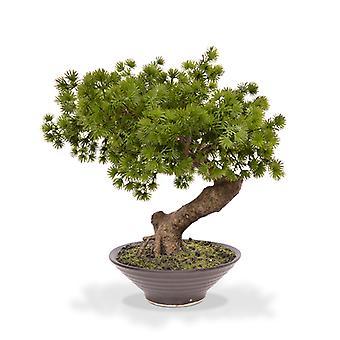 Bonsai pino artificiale 40 cm in ciotola