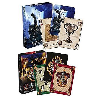 Pelikorttien pelaaminen, House Potters Collection -merkit Symbolit Linnan harjat Lelu
